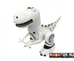 Робот Мини Робозавр белого цвета