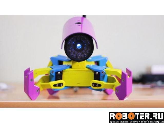 Робот на микроконтроллере ESP8266