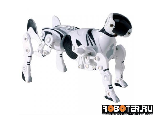 Робот- собака робопет