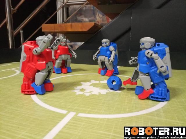 Новый робофутбол в аренду