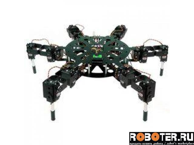 Робот Lynxmotion Hexapod MAH3-R