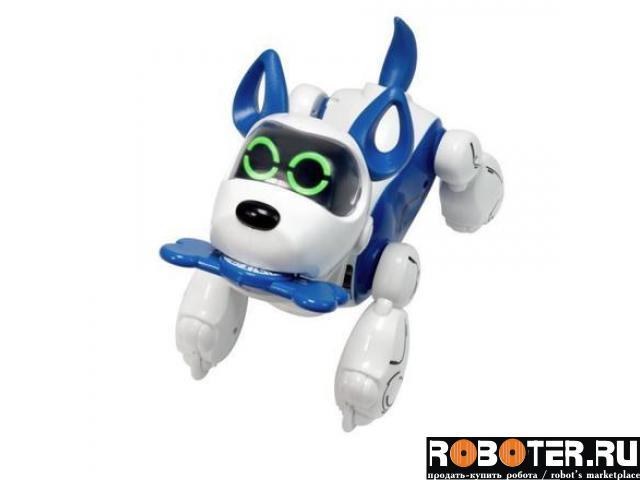 Роботизированный щенок PUBPO c косточкой