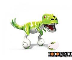 Робот-динозавр интерактивный