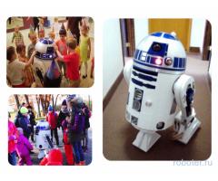 Робот R2-D2 в натуральную величину в аренду