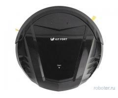 Робот-пылесос kitfort кт-511 синий/черный