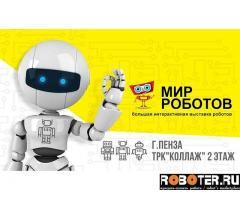 Требуется консультант на выставку роботов