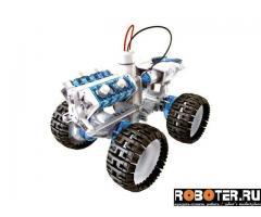 Робот-конструктор на соленой воде