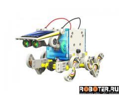 Конструктор-робот-трансформер на солнечной батарее
