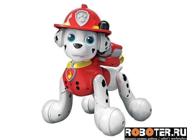 Робот-щенок zoomer marshall