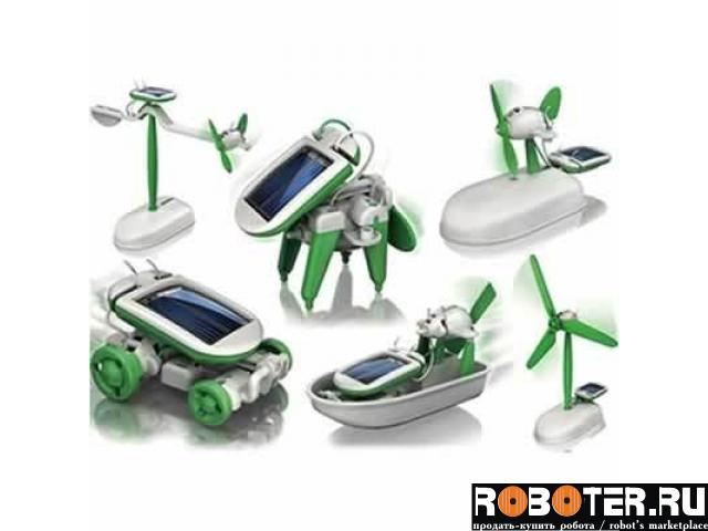 Конструктор 6 in 1 мини роботов