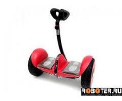 Стильный сигвей Minirobot красный матовый
