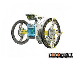 Конструктор робот на солнечной батарее 14 в 1 оптом