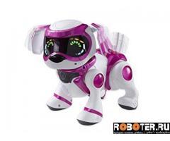 Робот teksta - puppy (розовая)