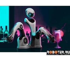 Робокафе Монти: робот-бармен, робот-бариста