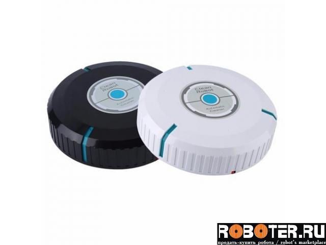 Робот пылесос Clean Robot черный