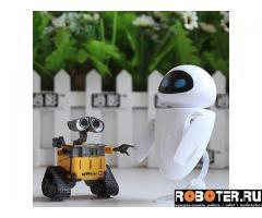 Роботы Валли и Ева 2 в 1