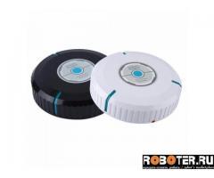 Робот-пылесос с микрофиброй, диаметр 23 см