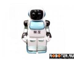 Робот фирменный Silverlit движущийся с подсветкой
