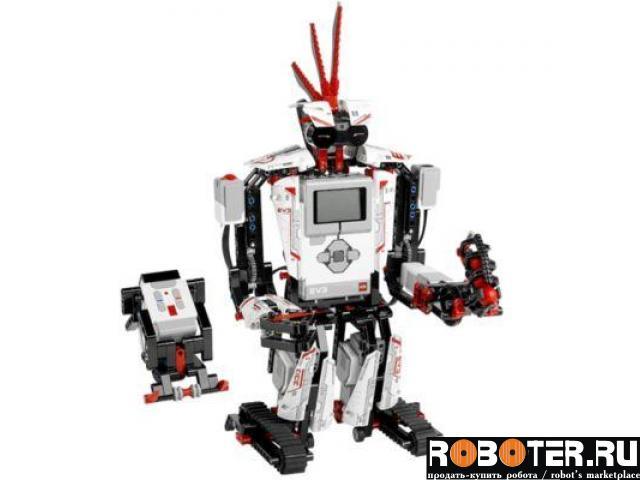 Робот lego mindstorms новый