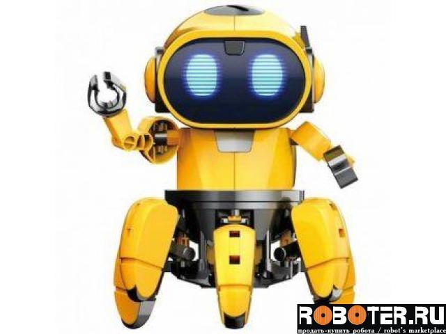 Робот свето-музыкальный