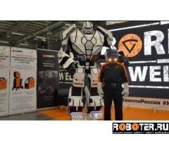 Трёхметровый робот RoboTop 2.0